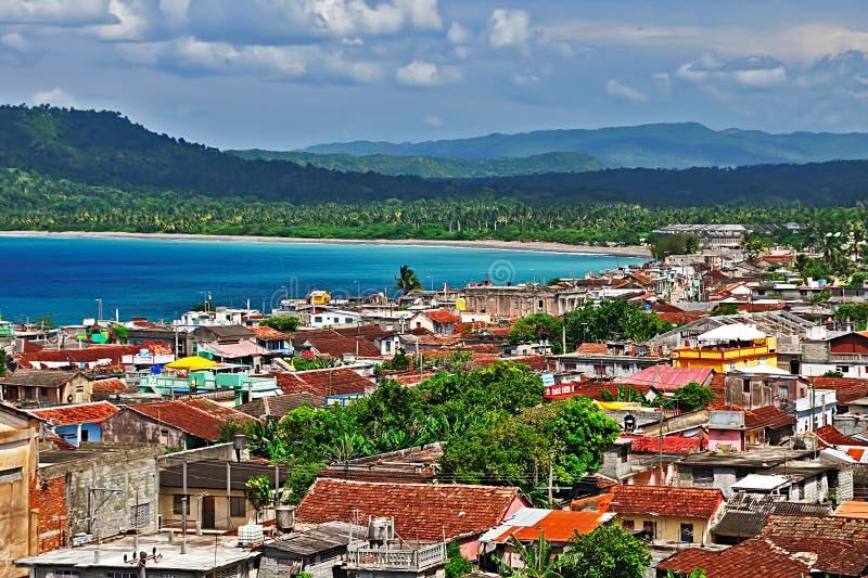 Ciudad de Baracoa, Cuba imágenes de archivo libres de regalías