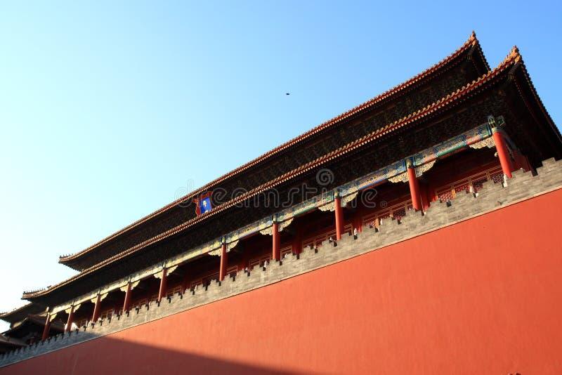 Ciudad de Beijing.Forbidden imágenes de archivo libres de regalías