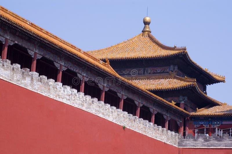 Ciudad de Beijing.Forbidden fotografía de archivo libre de regalías
