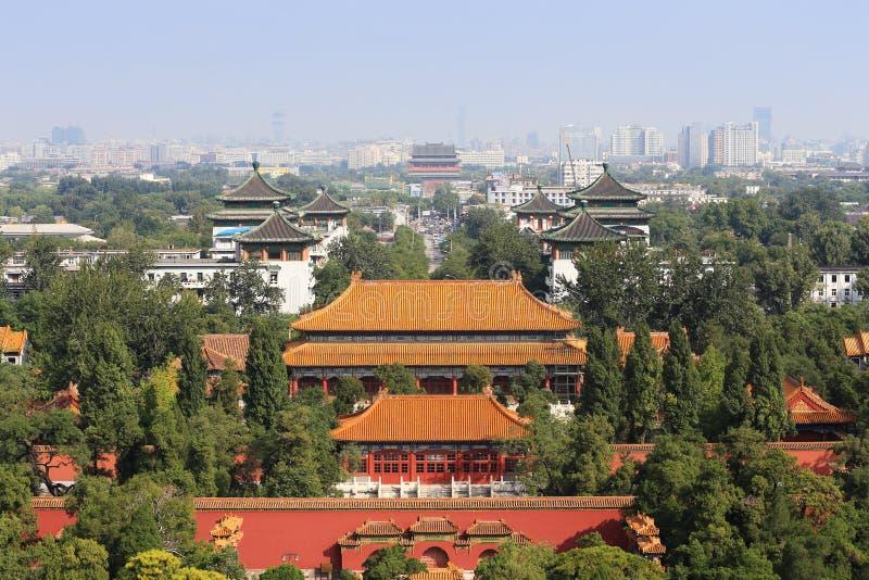 Ciudad de Beijng fotos de archivo