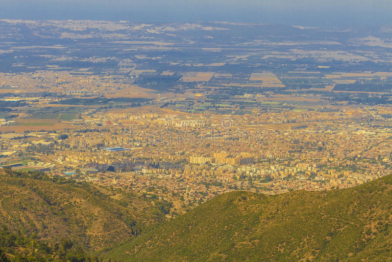 Ciudad de Blida imagen de archivo