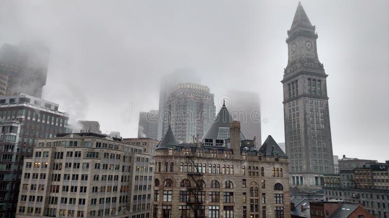 Ciudad de Boston fotografía de archivo libre de regalías