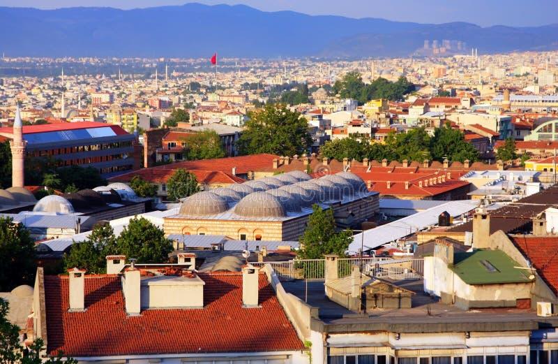Ciudad de Bursa fotos de archivo libres de regalías