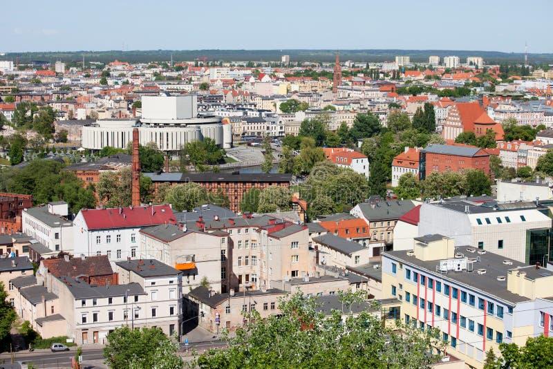 Ciudad de Bydgoszcz en Polonia fotos de archivo libres de regalías