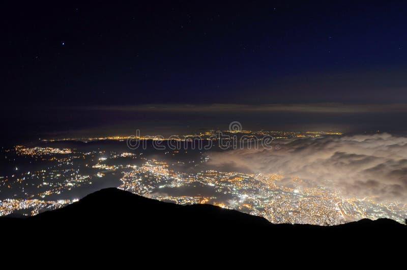 Ciudad de Caracas fotos de archivo