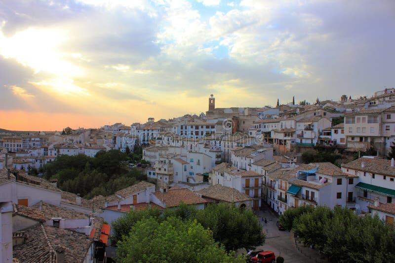 Ciudad de Cazorla (Jaén, España) foto de archivo