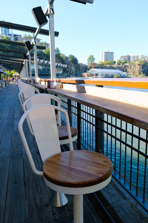 Ciudad 4 de cena al aire libre de Brisbane imagenes de archivo