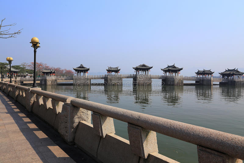 ciudad de chaozhou, Guangdong, China imagen de archivo libre de regalías