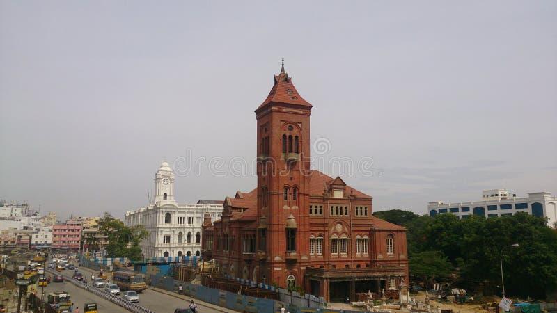 Ciudad de Chennai fotos de archivo libres de regalías