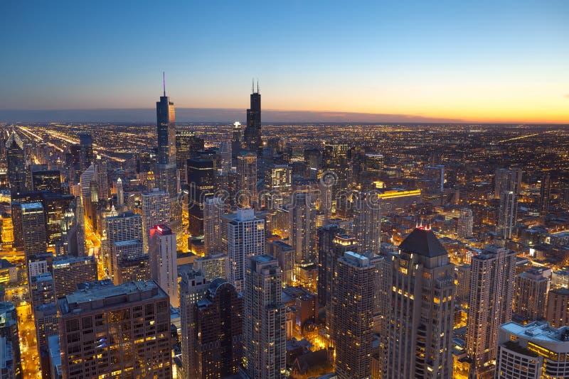 Ciudad de Chicago. fotografía de archivo libre de regalías
