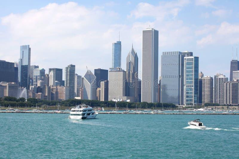 Ciudad de Chicago imagen de archivo libre de regalías