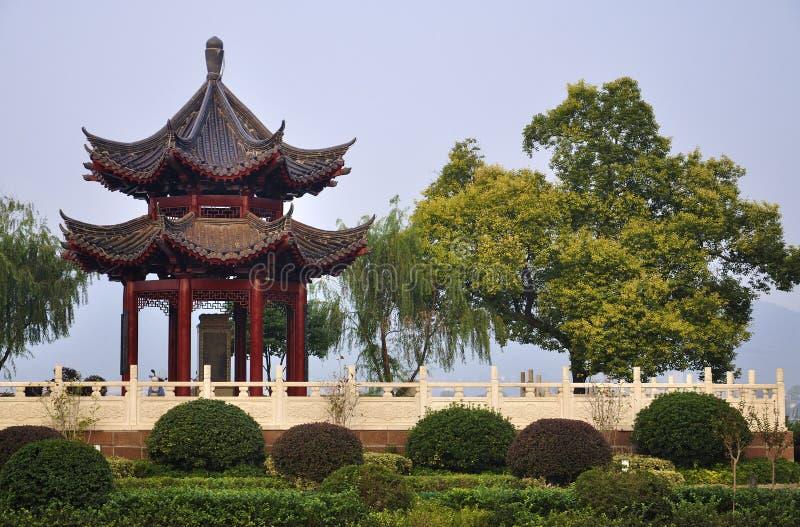 Ciudad de China Changsha, pabellón chino imagen de archivo libre de regalías
