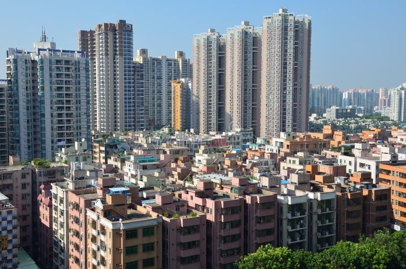Ciudad de China, Shenzhen fotografía de archivo