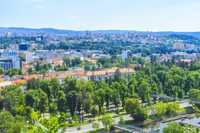Download Ciudad de Cluj-Napoca foto editorial. Imagen de bulevar - 42428526