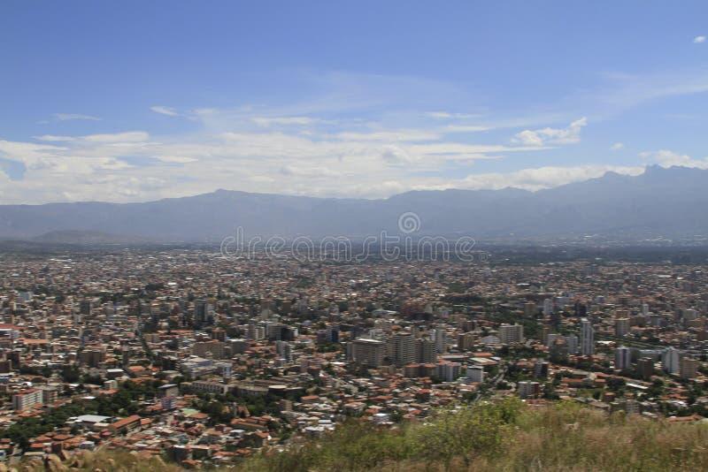 Ciudad de Cochamba, Bolivia imagen de archivo libre de regalías
