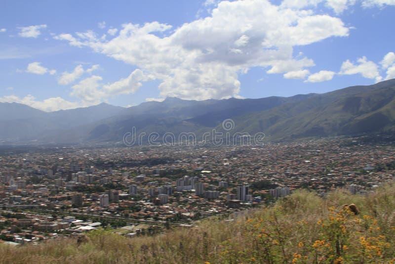 Ciudad de Cochamba, Bolivia fotografía de archivo