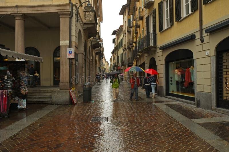 Ciudad de Como, Italia fotos de archivo libres de regalías