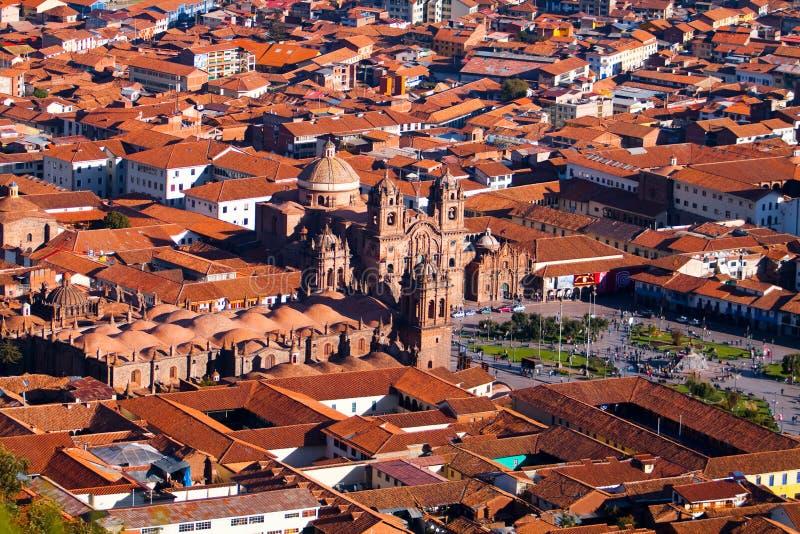 Ciudad de Cuzco en Perú, Suramérica imagen de archivo