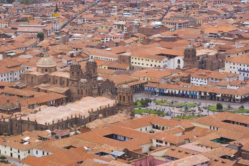 Ciudad de Cuzco, Perú fotografía de archivo libre de regalías