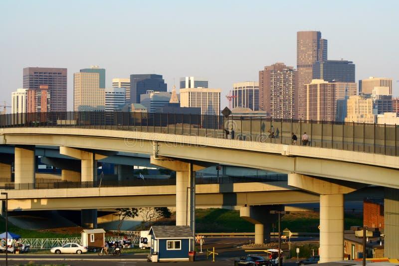 Ciudad de Denver imágenes de archivo libres de regalías
