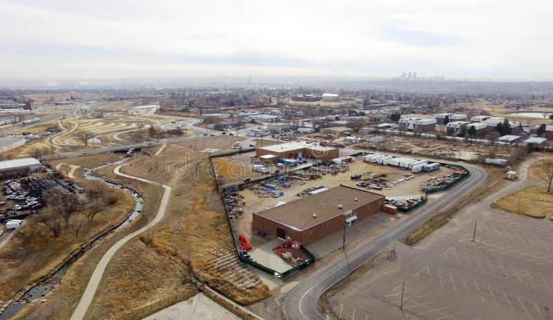 Ciudad de Denver en Colorado fotos de archivo libres de regalías