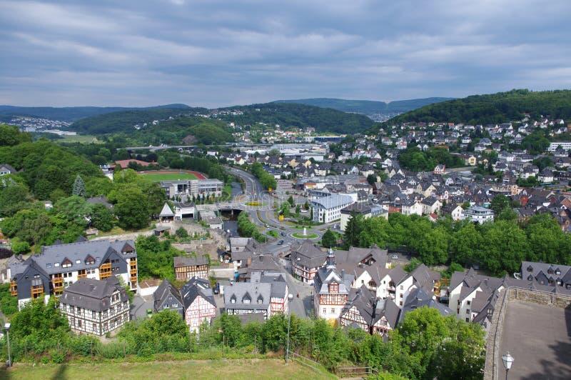 Ciudad de Dillenburg fotografía de archivo