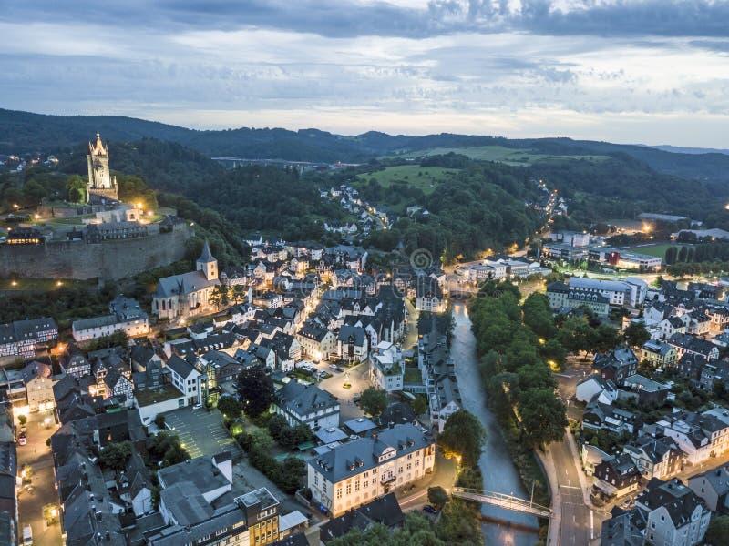 Ciudad de Dillenburg, Alemania foto de archivo libre de regalías