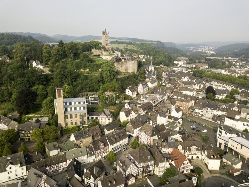 Ciudad de Dillenburg, Alemania fotos de archivo libres de regalías