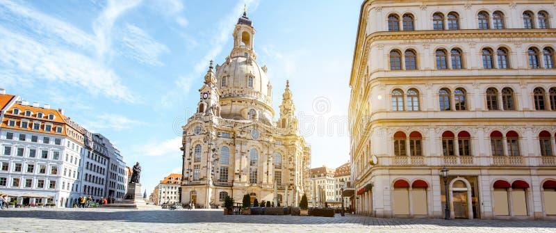 Ciudad de Dresden en Alemania fotografía de archivo libre de regalías