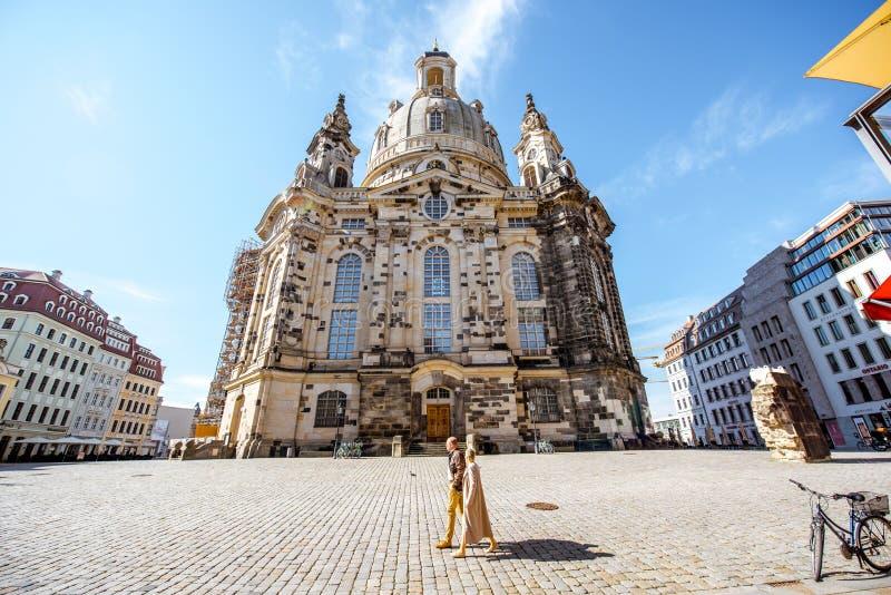 Ciudad de Dresden en Alemania imagen de archivo libre de regalías