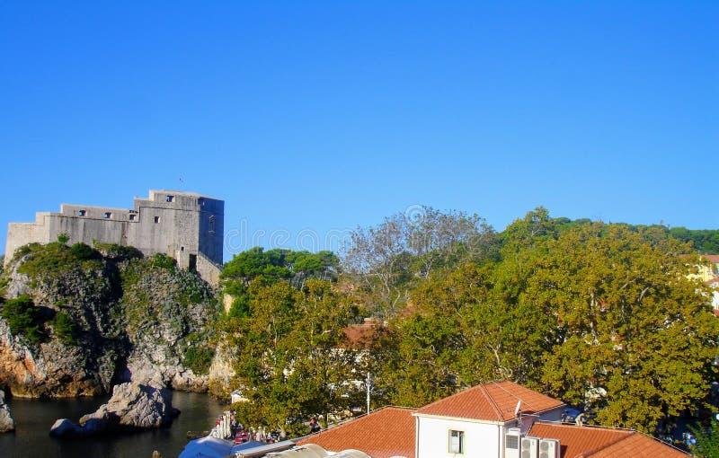 Ciudad de Dubrovnik, Croacia foto de archivo libre de regalías