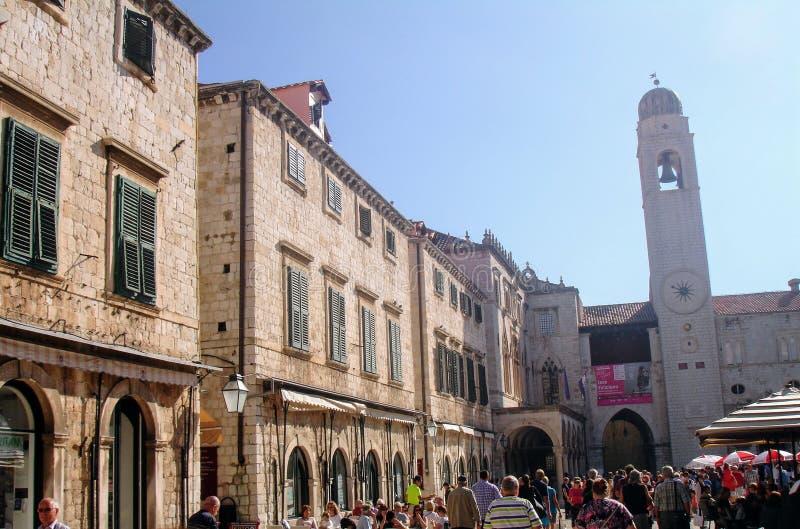 Ciudad de Dubrovnik, Croacia imagen de archivo