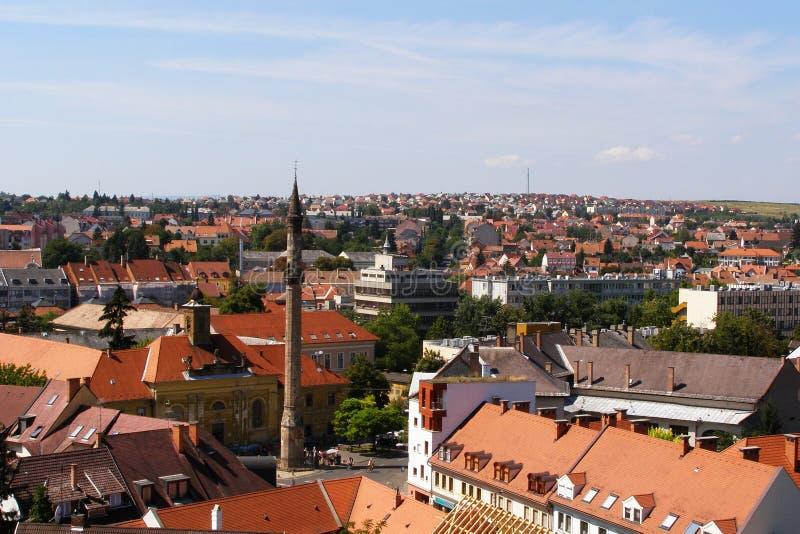 Ciudad de Eger fotos de archivo