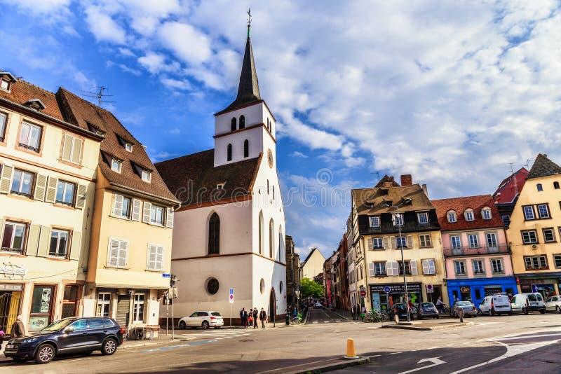 Ciudad de Estrasburgo fotografía de archivo