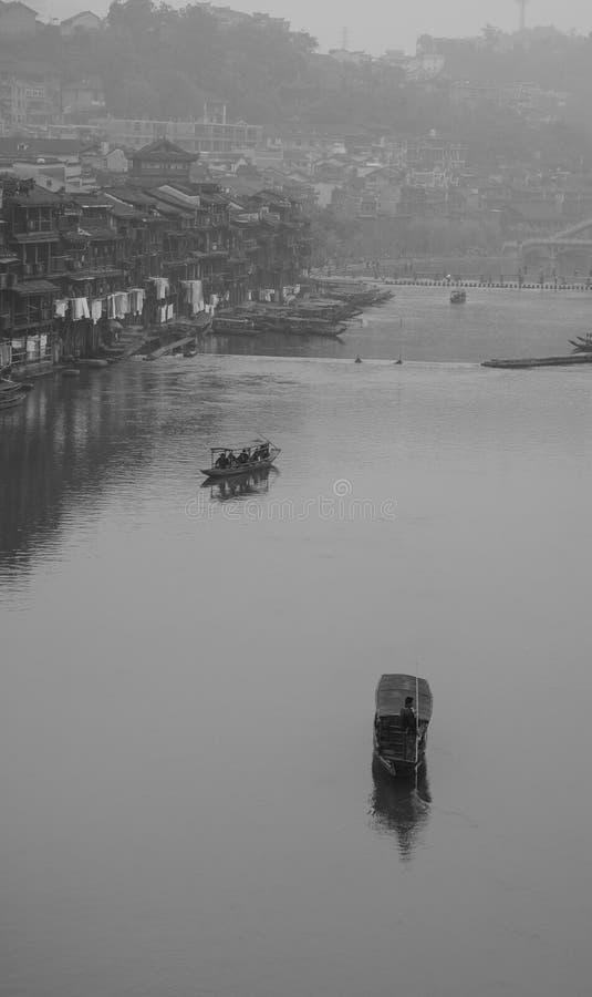 Ciudad de Fenghuang, China imágenes de archivo libres de regalías