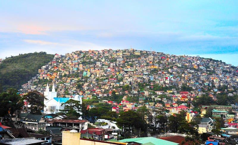 Ciudad de Filipinas fotos de archivo