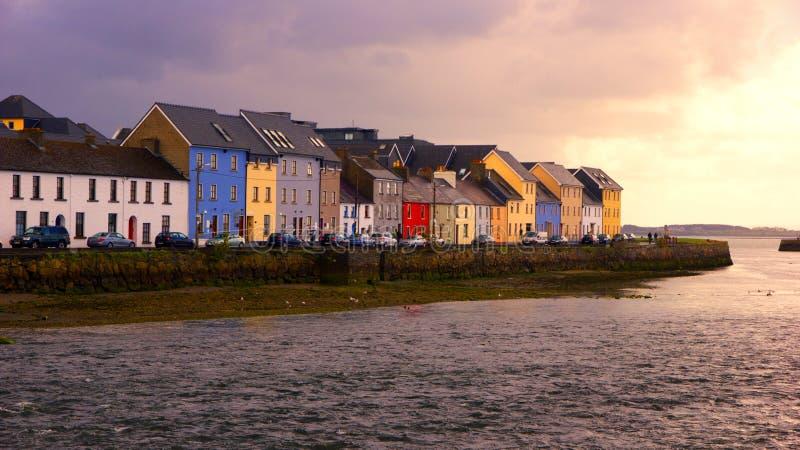 Ciudad de Galway foto de archivo