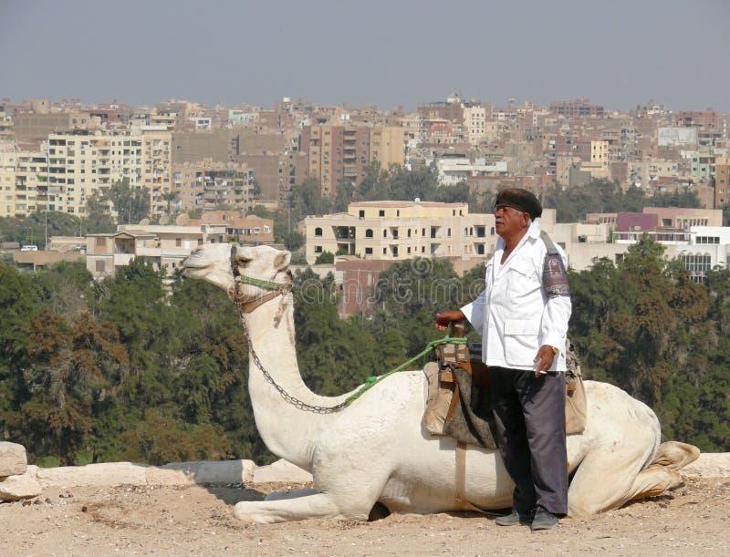 Ciudad de Giza desde arriba. foto de archivo libre de regalías