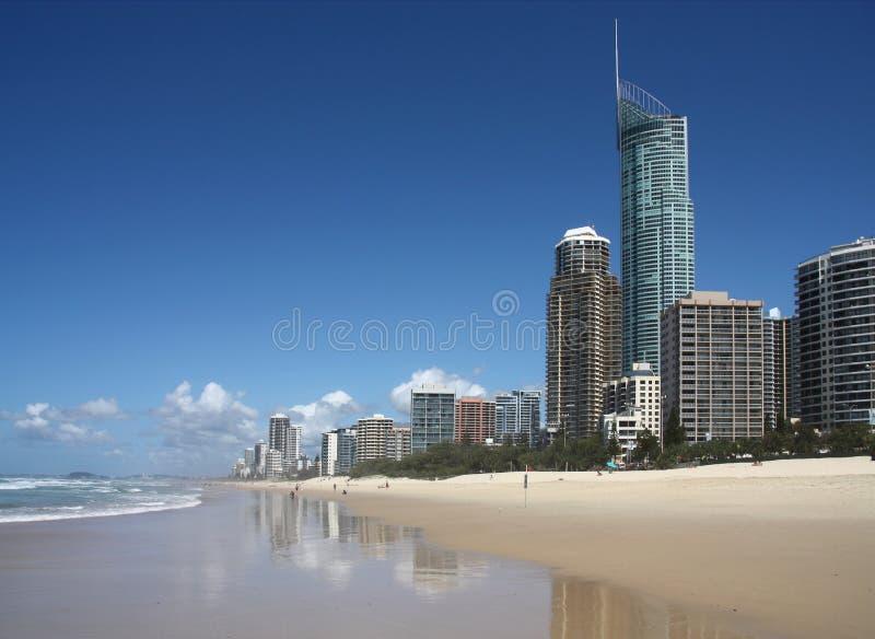 Ciudad de Gold Coast, Australia imagenes de archivo