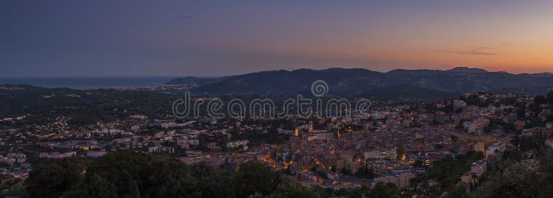 Ciudad de Grasse fotos de archivo