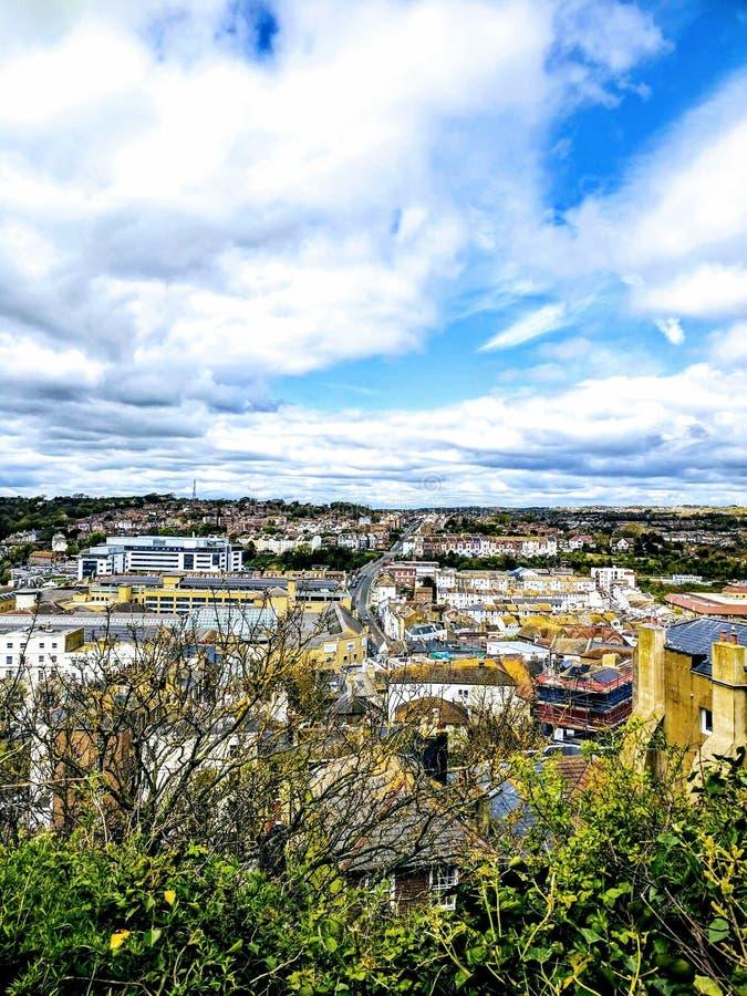 Ciudad de Hastings imagenes de archivo