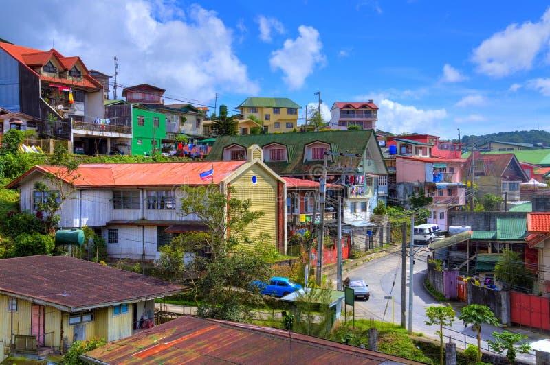 Ciudad de HDR Baguio, Filipinas imagen de archivo libre de regalías