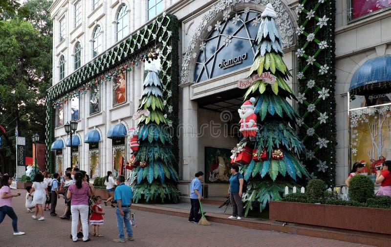 Download Ciudad De Ho Chi Minh, Calle Que Camina, Estación De La Navidad Imagen de archivo editorial - Imagen de holiday, nguyen: 64202479