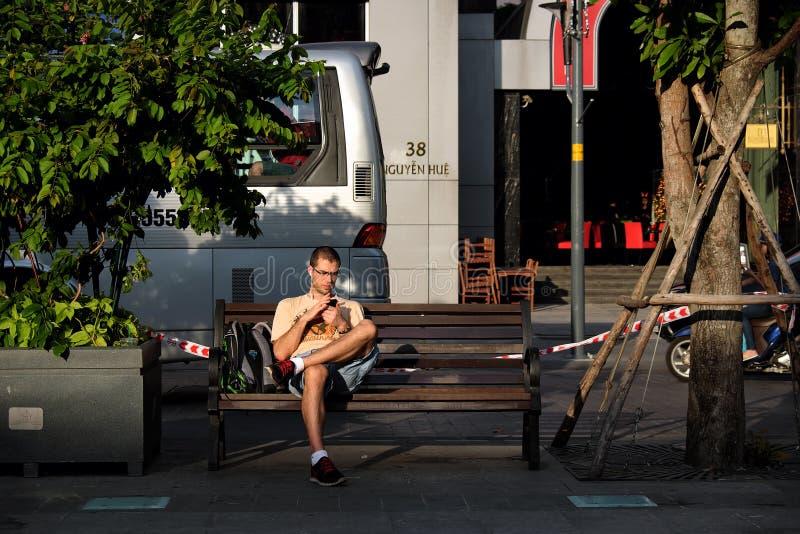 Download Ciudad De Ho Chi Minh, Vietnam, Viajero, Turista Imagen de archivo editorial - Imagen de saigon, día: 64210739