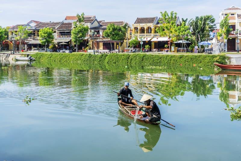 Ciudad de Hoi An Ancient, provincia de Quang Nam, Vietnam foto de archivo libre de regalías