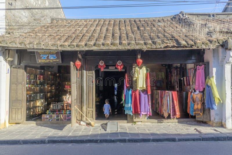 Ciudad de Hoi An Ancient, provincia de Quang Nam, Vietnam imagen de archivo