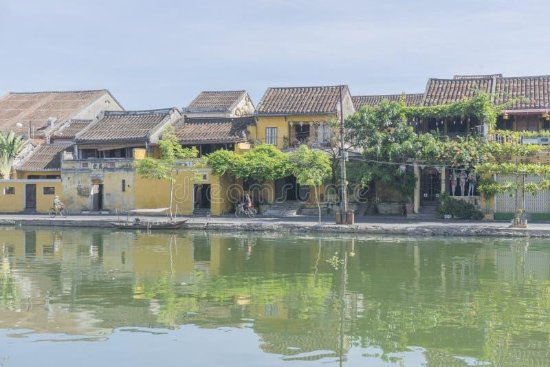 Ciudad de Hoi An Ancient, provincia Vietnam de Quang Nam fotografía de archivo