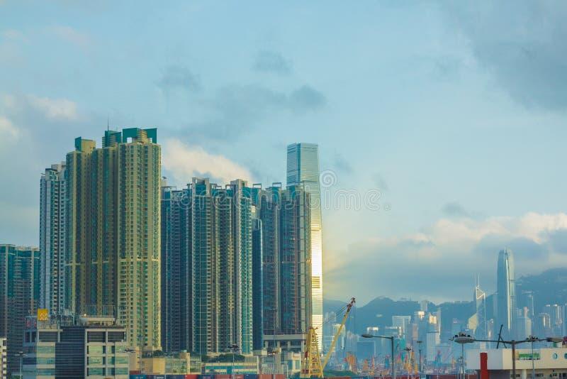 Ciudad de Hong Kong imagen de archivo
