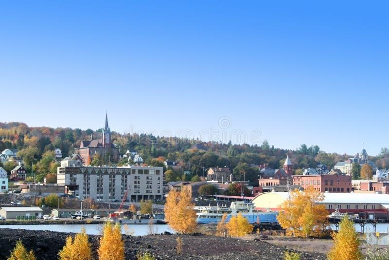 Ciudad de Houghton foto de archivo