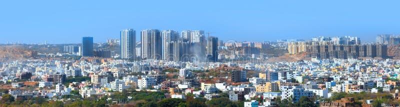 Ciudad de Hyderabad en la India foto de archivo